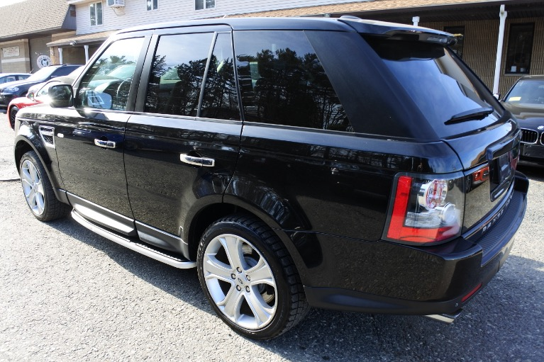 Used 2010 Land Rover Range Rover Sport Supercharged Used 2010 Land Rover Range Rover Sport Supercharged for sale  at Metro West Motorcars LLC in Shrewsbury MA 3