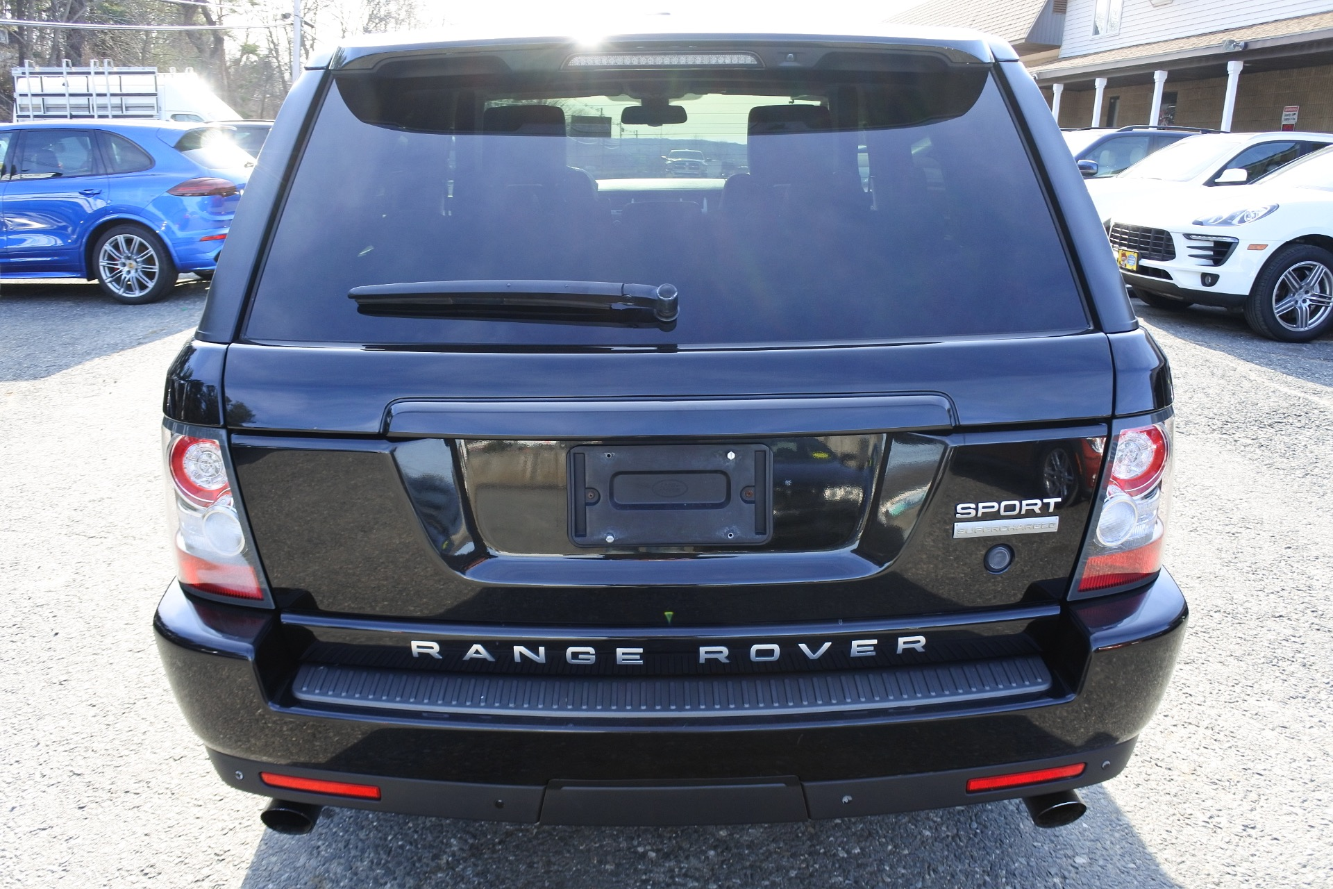Used 2010 Land Rover Range Rover Sport Supercharged Used 2010 Land Rover Range Rover Sport Supercharged for sale  at Metro West Motorcars LLC in Shrewsbury MA 4