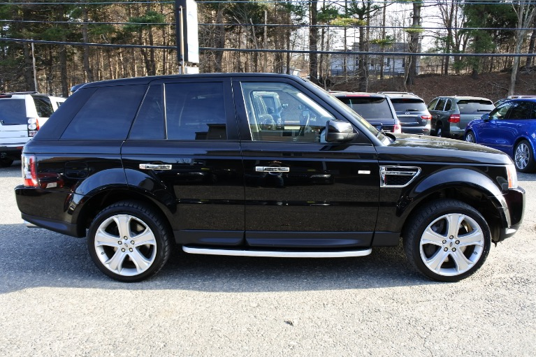 Used 2010 Land Rover Range Rover Sport Supercharged Used 2010 Land Rover Range Rover Sport Supercharged for sale  at Metro West Motorcars LLC in Shrewsbury MA 6