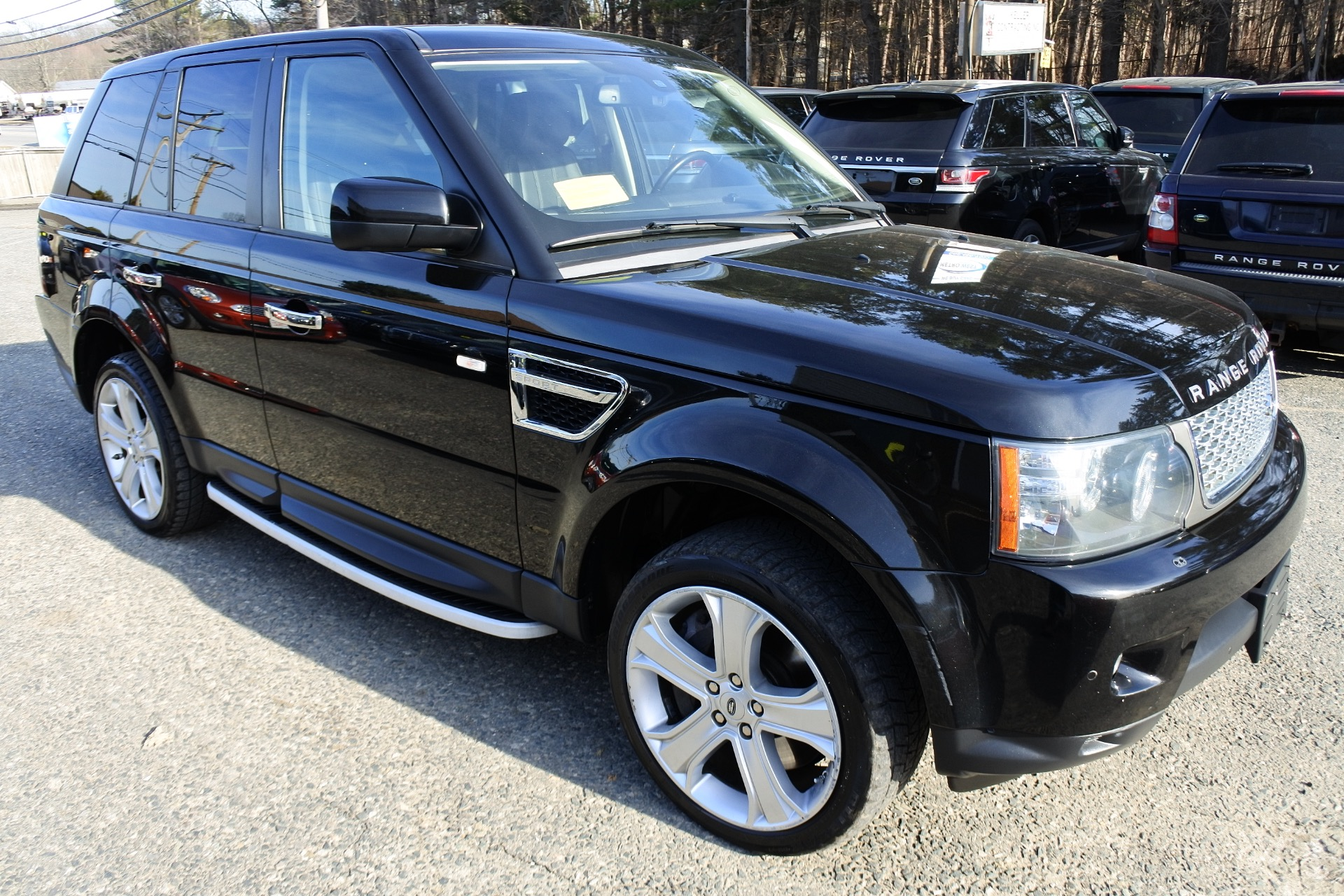Used 2010 Land Rover Range Rover Sport Supercharged Used 2010 Land Rover Range Rover Sport Supercharged for sale  at Metro West Motorcars LLC in Shrewsbury MA 7