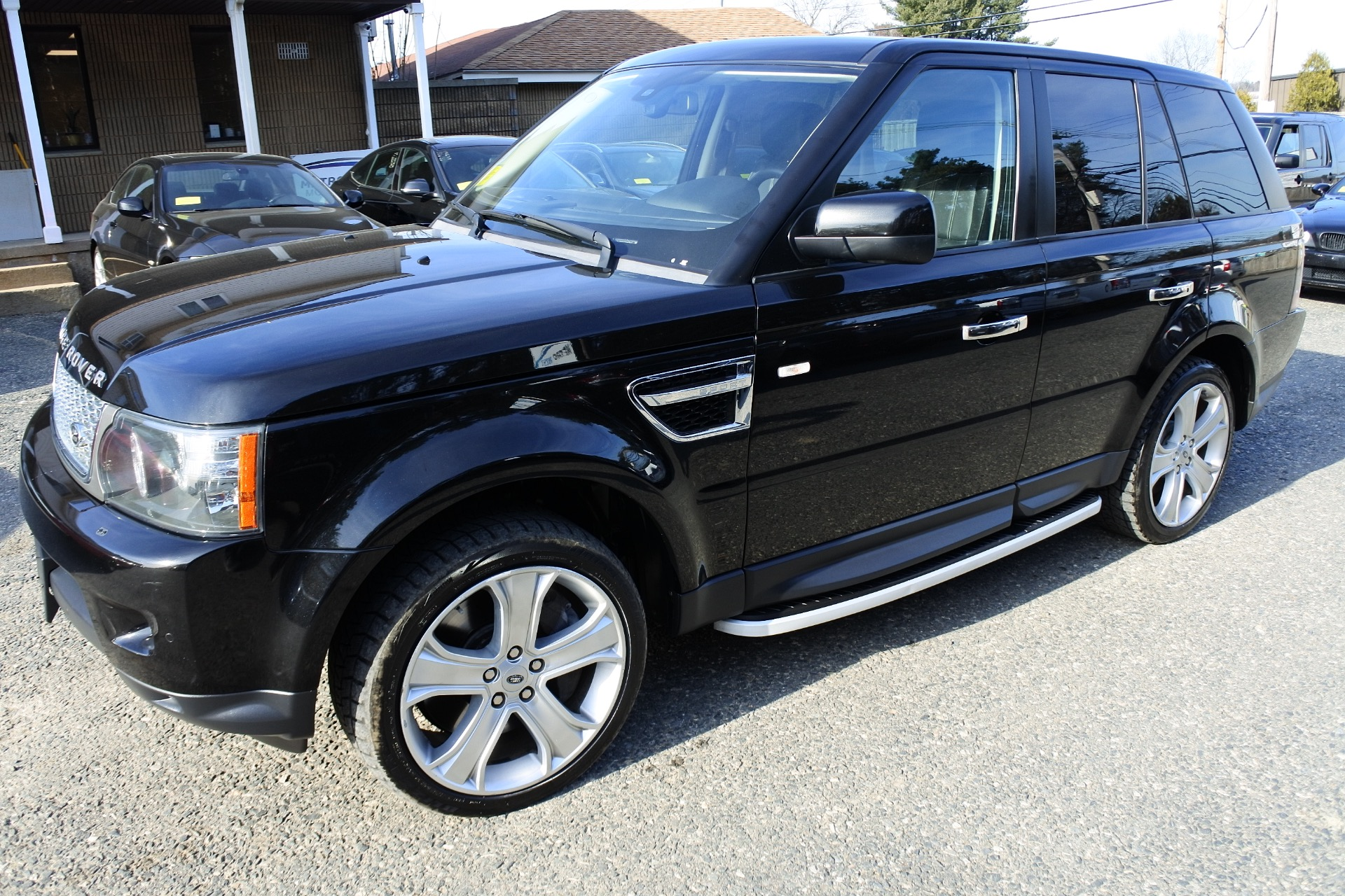 Used 2010 Land Rover Range Rover Sport Supercharged Used 2010 Land Rover Range Rover Sport Supercharged for sale  at Metro West Motorcars LLC in Shrewsbury MA 1