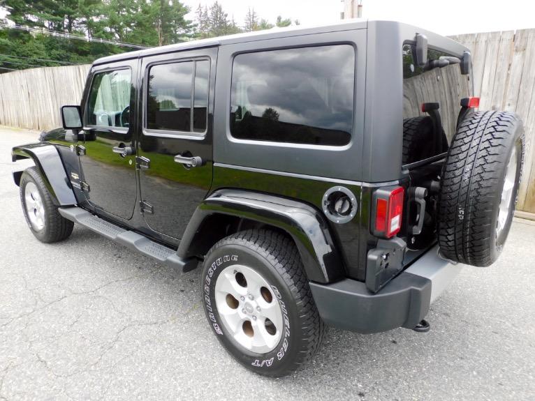 Used 2015 Jeep Wrangler Unlimited Sahara 4WD Used 2015 Jeep Wrangler Unlimited Sahara 4WD for sale  at Metro West Motorcars LLC in Shrewsbury MA 3