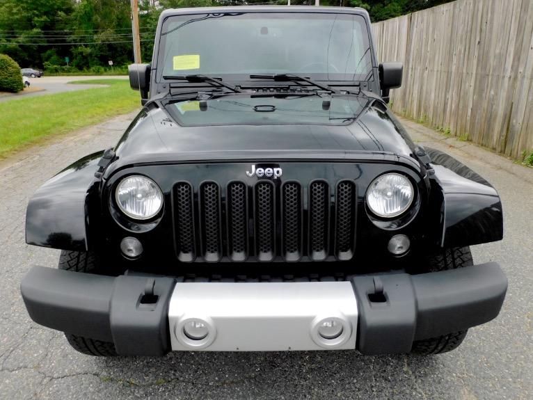 Used 2015 Jeep Wrangler Unlimited Sahara 4WD Used 2015 Jeep Wrangler Unlimited Sahara 4WD for sale  at Metro West Motorcars LLC in Shrewsbury MA 8
