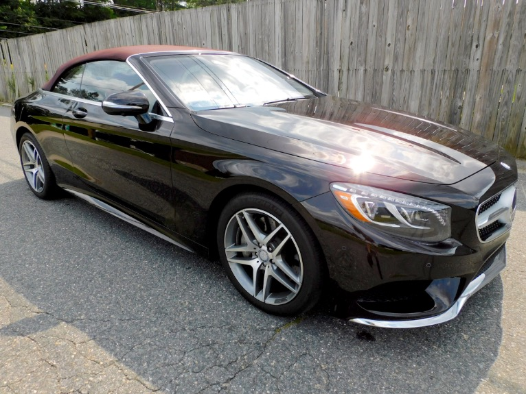 Used 2017 Mercedes-Benz S-class S 550 Cabriolet Used 2017 Mercedes-Benz S-class S 550 Cabriolet for sale  at Metro West Motorcars LLC in Shrewsbury MA 10