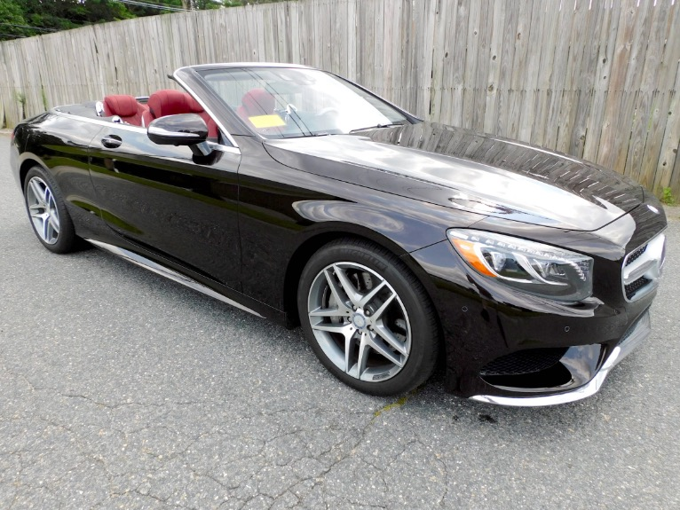 Used 2017 Mercedes-Benz S-class S 550 Cabriolet Used 2017 Mercedes-Benz S-class S 550 Cabriolet for sale  at Metro West Motorcars LLC in Shrewsbury MA 11