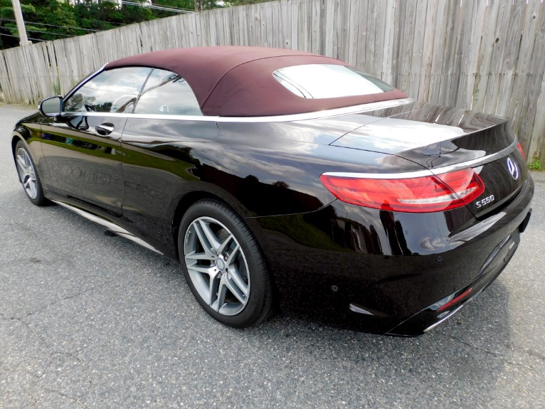 Used 2017 Mercedes-Benz S-class S 550 Cabriolet Used 2017 Mercedes-Benz S-class S 550 Cabriolet for sale  at Metro West Motorcars LLC in Shrewsbury MA 5