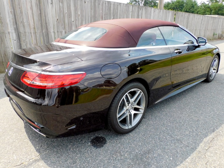 Used 2017 Mercedes-Benz S-class S 550 Cabriolet Used 2017 Mercedes-Benz S-class S 550 Cabriolet for sale  at Metro West Motorcars LLC in Shrewsbury MA 8
