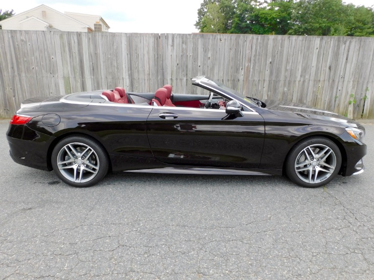 Used 2017 Mercedes-Benz S-class S 550 Cabriolet Used 2017 Mercedes-Benz S-class S 550 Cabriolet for sale  at Metro West Motorcars LLC in Shrewsbury MA 9