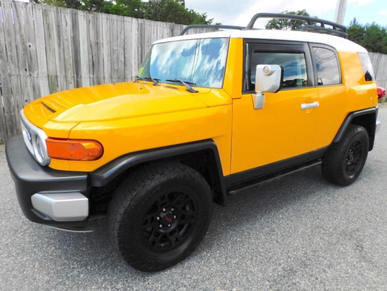 Used Used 2007 Toyota Fj Cruiser 4WD Auto for sale $21,800 at Metro West Motorcars LLC in Shrewsbury MA