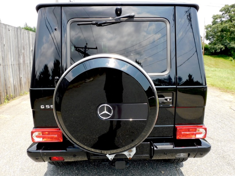 Used 2016 Mercedes-Benz G-class G550 4MATIC Used 2016 Mercedes-Benz G-class G550 4MATIC for sale  at Metro West Motorcars LLC in Shrewsbury MA 4