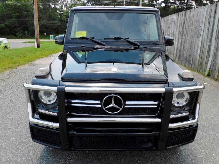Used 2016 Mercedes-Benz G-class G550 4MATIC Used 2016 Mercedes-Benz G-class G550 4MATIC for sale  at Metro West Motorcars LLC in Shrewsbury MA 8