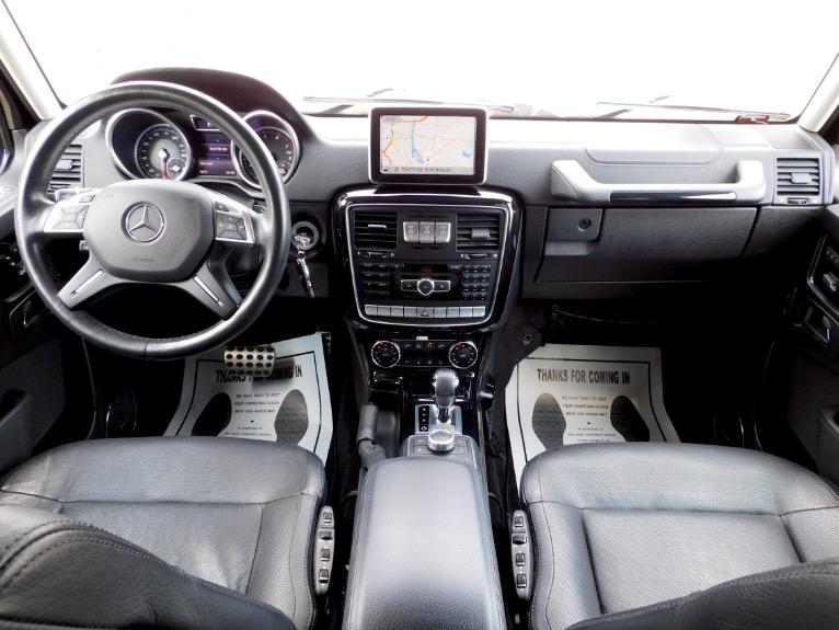 Used 2016 Mercedes-Benz G-class G550 4MATIC Used 2016 Mercedes-Benz G-class G550 4MATIC for sale  at Metro West Motorcars LLC in Shrewsbury MA 9