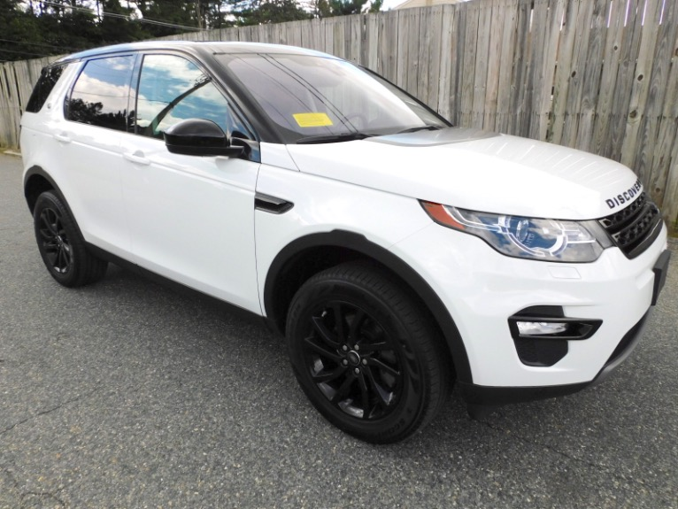 Used 2018 Land Rover Discovery Sport HSE 4WD Used 2018 Land Rover Discovery Sport HSE 4WD for sale  at Metro West Motorcars LLC in Shrewsbury MA 7