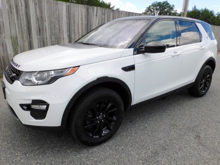 Used Used 2018 Land Rover Discovery Sport HSE 4WD for sale $34,800 at Metro West Motorcars LLC in Shrewsbury MA