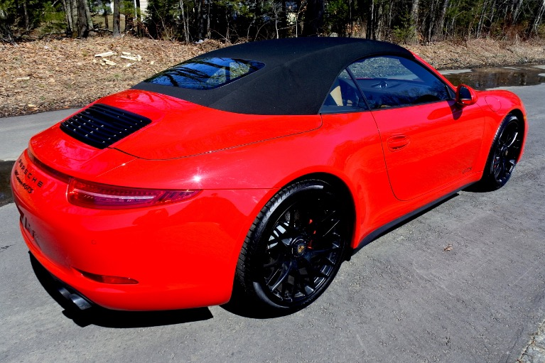 Used 2016 Porsche 911 Carrera 4 GTS Cabriolet Used 2016 Porsche 911 Carrera 4 GTS Cabriolet for sale  at Metro West Motorcars LLC in Shrewsbury MA 10