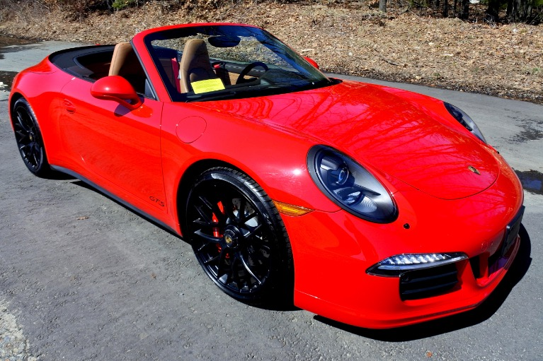 Used 2016 Porsche 911 Carrera 4 GTS Cabriolet Used 2016 Porsche 911 Carrera 4 GTS Cabriolet for sale  at Metro West Motorcars LLC in Shrewsbury MA 13