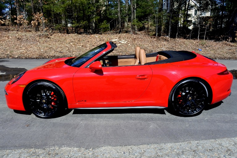 Used 2016 Porsche 911 Carrera 4 GTS Cabriolet Used 2016 Porsche 911 Carrera 4 GTS Cabriolet for sale  at Metro West Motorcars LLC in Shrewsbury MA 3