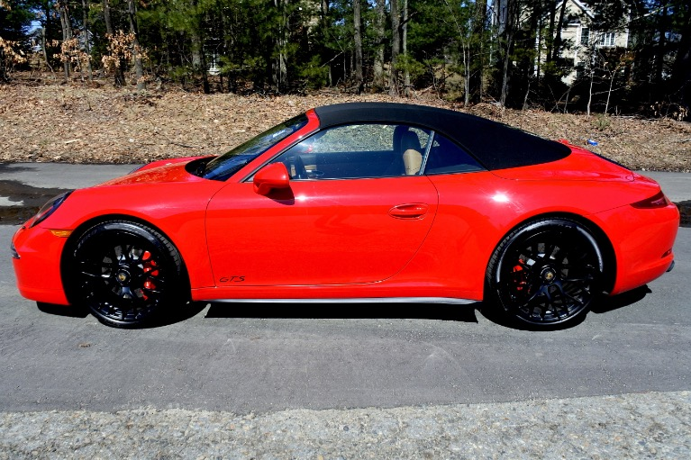 Used 2016 Porsche 911 Carrera 4 GTS Cabriolet Used 2016 Porsche 911 Carrera 4 GTS Cabriolet for sale  at Metro West Motorcars LLC in Shrewsbury MA 4