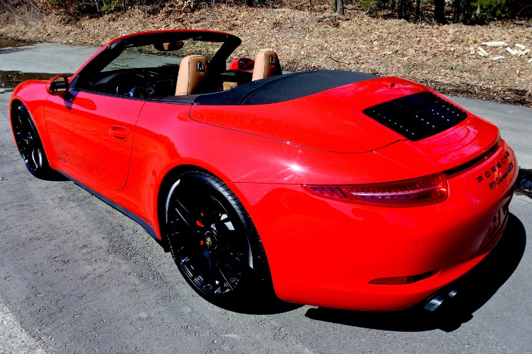 Used 2016 Porsche 911 Carrera 4 GTS Cabriolet Used 2016 Porsche 911 Carrera 4 GTS Cabriolet for sale  at Metro West Motorcars LLC in Shrewsbury MA 5