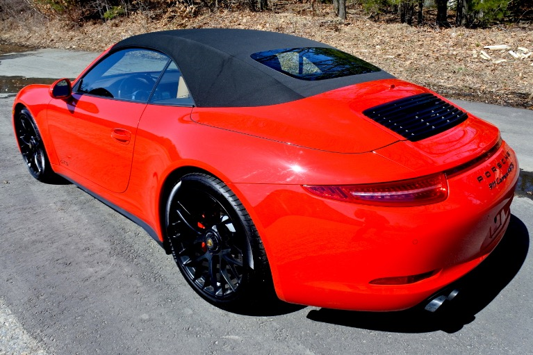 Used 2016 Porsche 911 Carrera 4 GTS Cabriolet Used 2016 Porsche 911 Carrera 4 GTS Cabriolet for sale  at Metro West Motorcars LLC in Shrewsbury MA 6