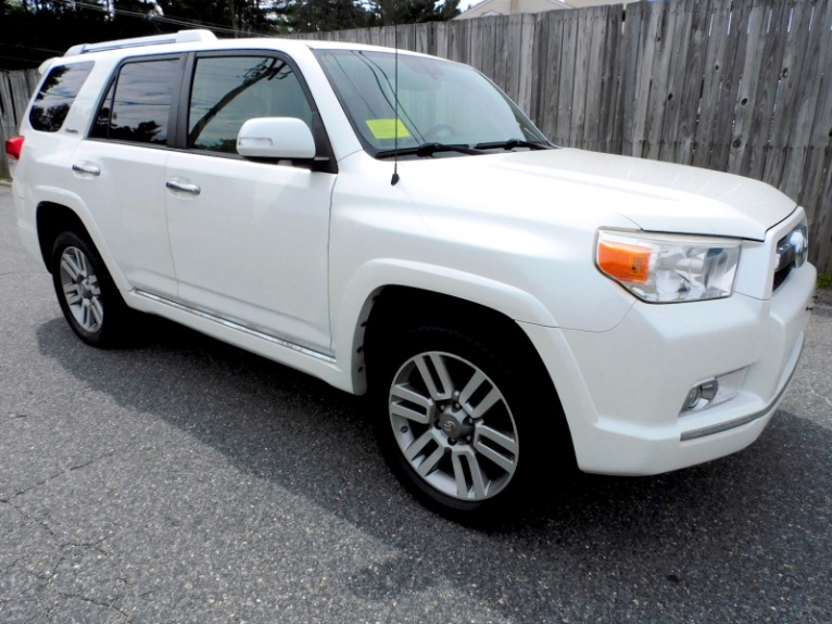 Used 2012 Toyota 4runner V6 Limited 4WD Used 2012 Toyota 4runner V6 Limited 4WD for sale  at Metro West Motorcars LLC in Shrewsbury MA 7