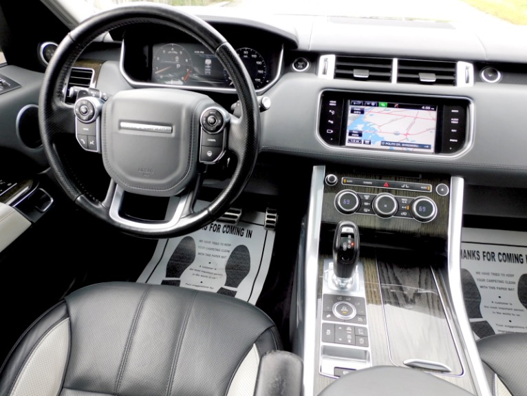 Used 2015 Land Rover Range Rover Sport Autobiography Used 2015 Land Rover Range Rover Sport Autobiography for sale  at Metro West Motorcars LLC in Shrewsbury MA 10