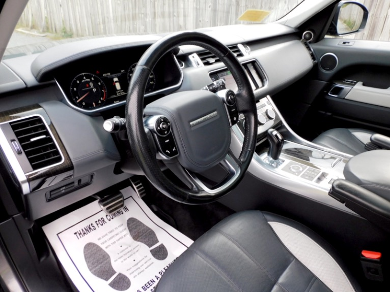 Used 2015 Land Rover Range Rover Sport Autobiography Used 2015 Land Rover Range Rover Sport Autobiography for sale  at Metro West Motorcars LLC in Shrewsbury MA 13