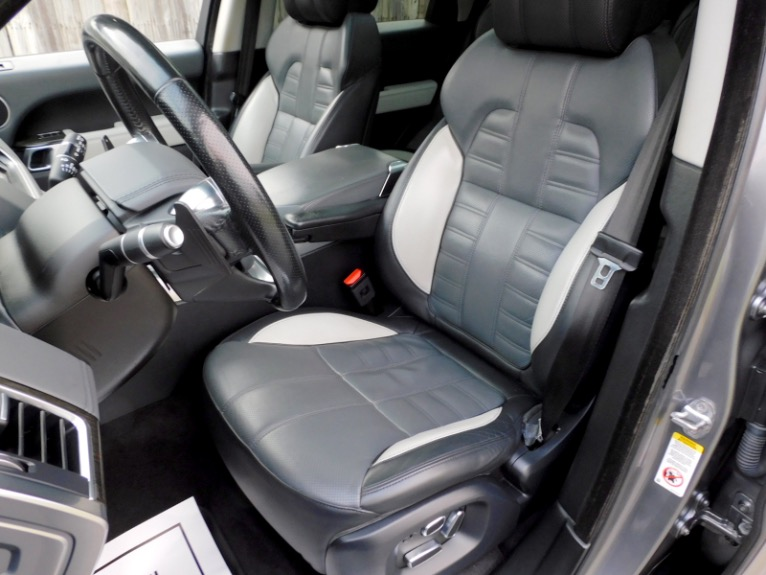 Used 2015 Land Rover Range Rover Sport Autobiography Used 2015 Land Rover Range Rover Sport Autobiography for sale  at Metro West Motorcars LLC in Shrewsbury MA 14