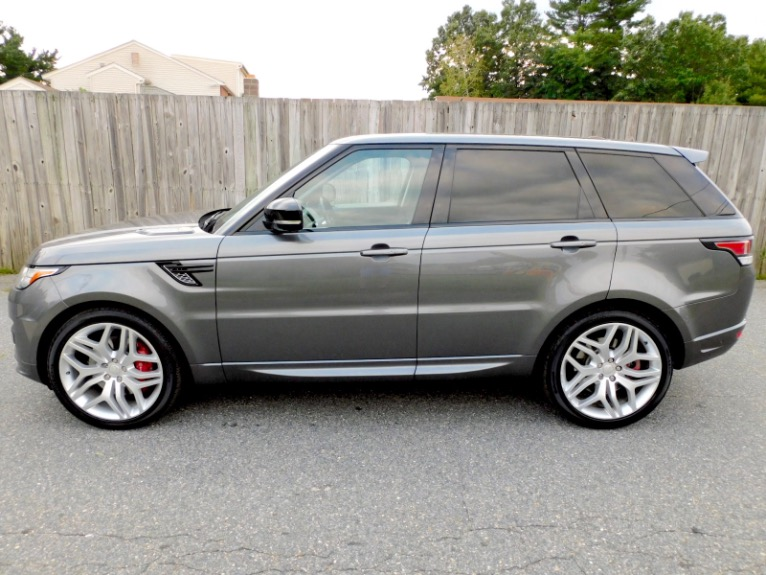Used 2015 Land Rover Range Rover Sport Autobiography Used 2015 Land Rover Range Rover Sport Autobiography for sale  at Metro West Motorcars LLC in Shrewsbury MA 2