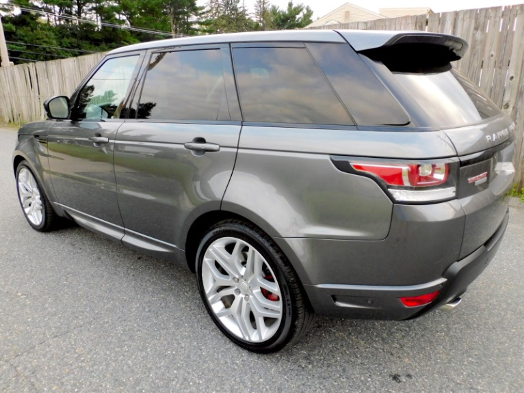 Used 2015 Land Rover Range Rover Sport Autobiography Used 2015 Land Rover Range Rover Sport Autobiography for sale  at Metro West Motorcars LLC in Shrewsbury MA 3