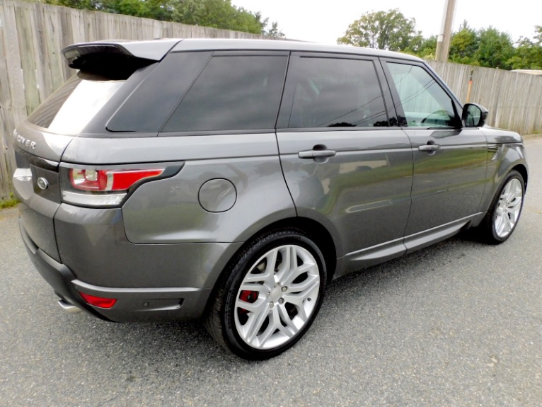 Used 2015 Land Rover Range Rover Sport Autobiography Used 2015 Land Rover Range Rover Sport Autobiography for sale  at Metro West Motorcars LLC in Shrewsbury MA 5