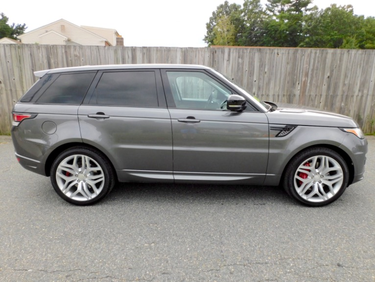 Used 2015 Land Rover Range Rover Sport Autobiography Used 2015 Land Rover Range Rover Sport Autobiography for sale  at Metro West Motorcars LLC in Shrewsbury MA 6