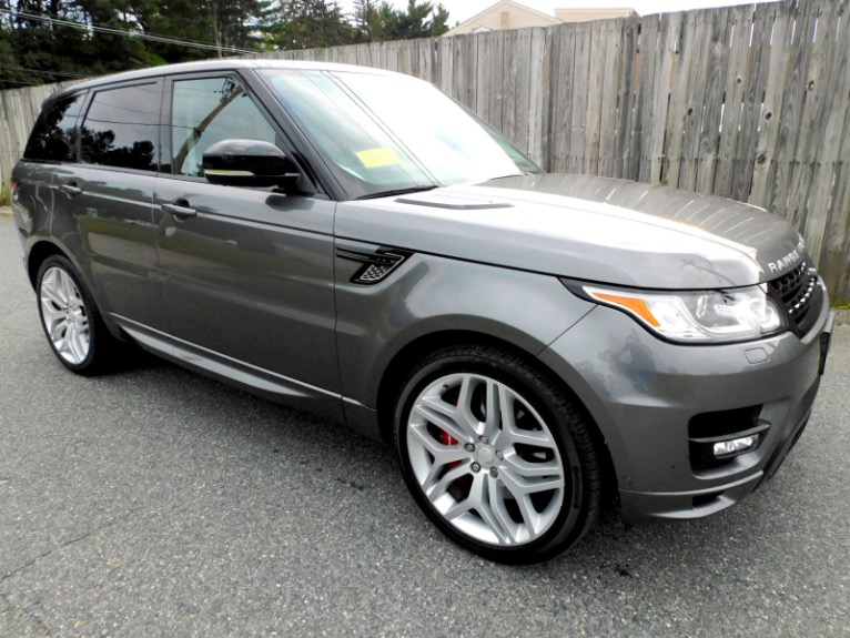 Used 2015 Land Rover Range Rover Sport Autobiography Used 2015 Land Rover Range Rover Sport Autobiography for sale  at Metro West Motorcars LLC in Shrewsbury MA 7