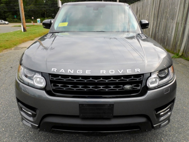 Used 2015 Land Rover Range Rover Sport Autobiography Used 2015 Land Rover Range Rover Sport Autobiography for sale  at Metro West Motorcars LLC in Shrewsbury MA 8