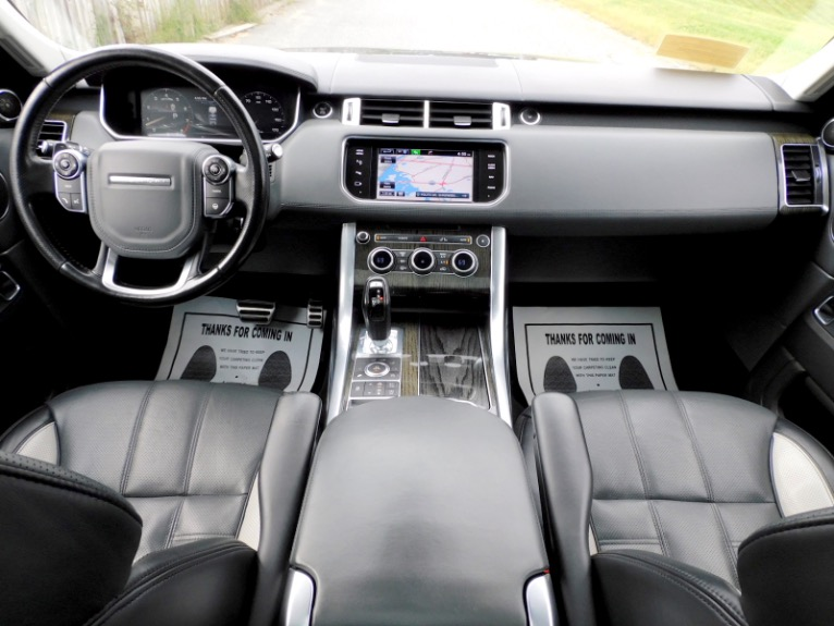 Used 2015 Land Rover Range Rover Sport Autobiography Used 2015 Land Rover Range Rover Sport Autobiography for sale  at Metro West Motorcars LLC in Shrewsbury MA 9