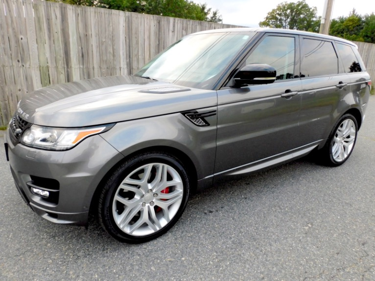 Used Used 2015 Land Rover Range Rover Sport Autobiography for sale $45,800 at Metro West Motorcars LLC in Shrewsbury MA