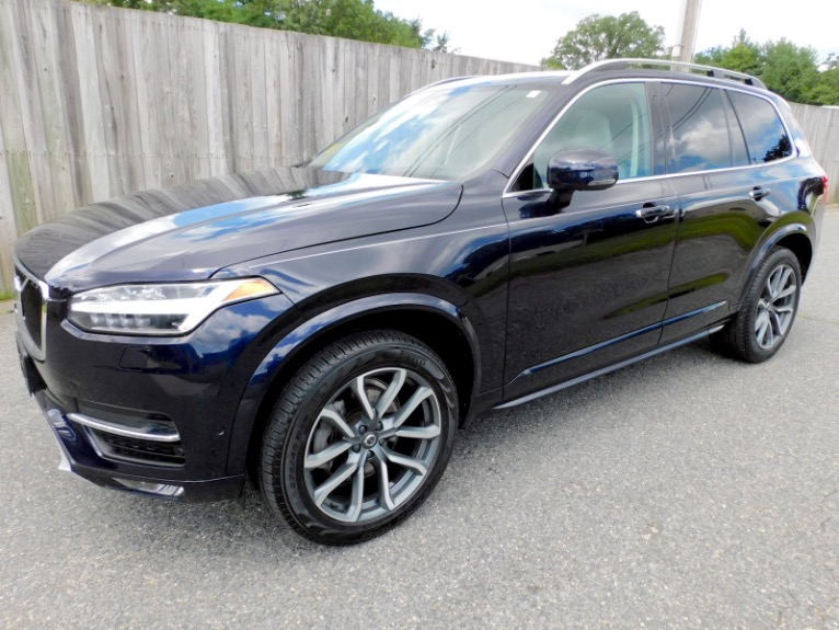 Used 2019 Volvo Xc90 T6 AWD Momentum Used 2019 Volvo Xc90 T6 AWD Momentum for sale  at Metro West Motorcars LLC in Shrewsbury MA 1