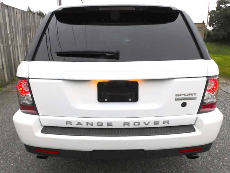 Used 2011 Land Rover Range Rover Sport Supercharged Used 2011 Land Rover Range Rover Sport Supercharged for sale  at Metro West Motorcars LLC in Shrewsbury MA 4