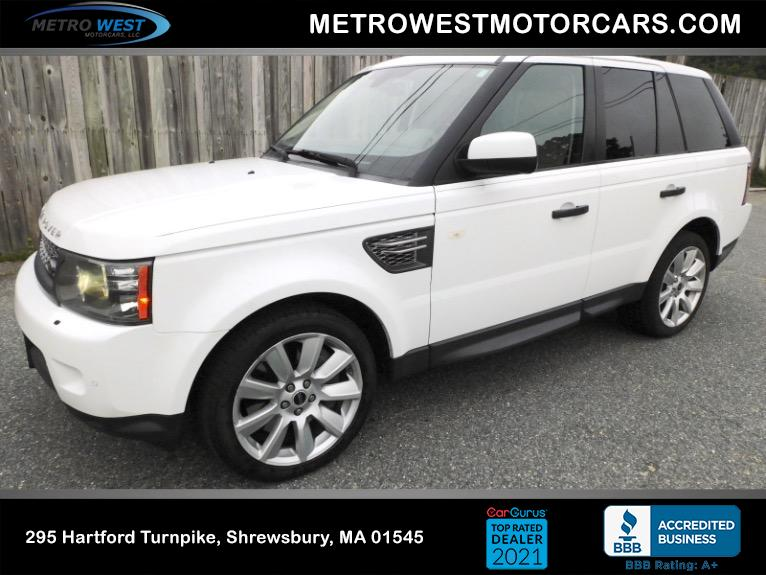 Used Used 2011 Land Rover Range Rover Sport Supercharged for sale $19,800 at Metro West Motorcars LLC in Shrewsbury MA