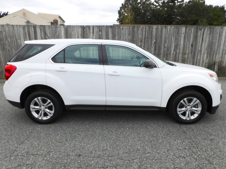 Used 2013 Chevrolet Equinox FWD LS Used 2013 Chevrolet Equinox FWD LS for sale  at Metro West Motorcars LLC in Shrewsbury MA 6