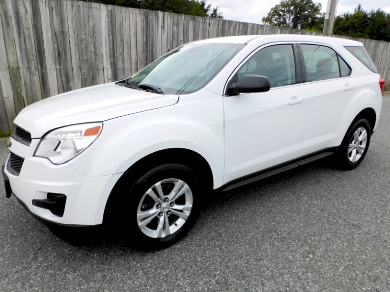 Used 2013 Chevrolet Equinox FWD LS Used 2013 Chevrolet Equinox FWD LS for sale  at Metro West Motorcars LLC in Shrewsbury MA 1
