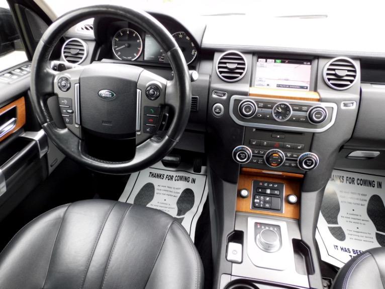 Used 2016 Land Rover Lr4 HSE Silver Edition Used 2016 Land Rover Lr4 HSE Silver Edition for sale  at Metro West Motorcars LLC in Shrewsbury MA 10