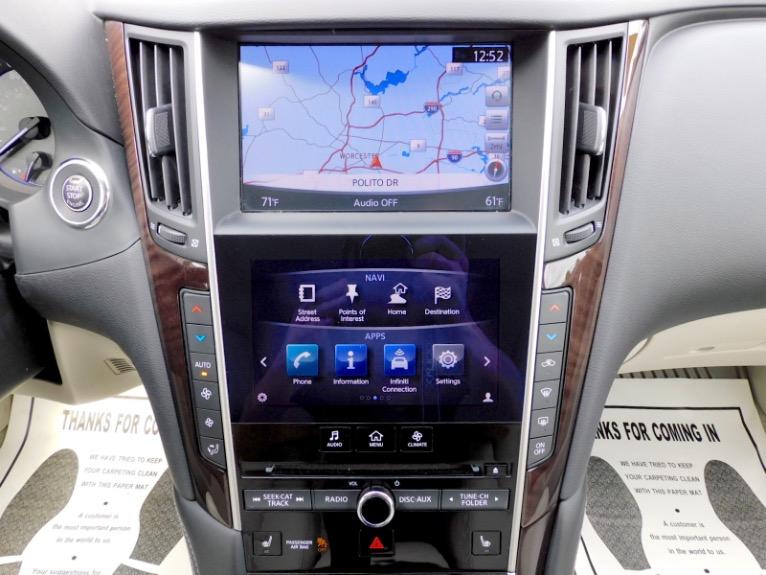 Used 2015 Infiniti Q50 Premium AWD Used 2015 Infiniti Q50 Premium AWD for sale  at Metro West Motorcars LLC in Shrewsbury MA 11