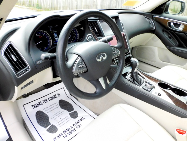 Used 2015 Infiniti Q50 Premium AWD Used 2015 Infiniti Q50 Premium AWD for sale  at Metro West Motorcars LLC in Shrewsbury MA 13