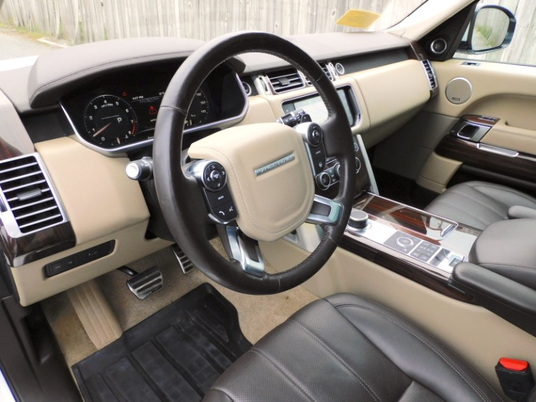 Used 2016 Land Rover Range Rover Supercharged Used 2016 Land Rover Range Rover Supercharged for sale  at Metro West Motorcars LLC in Shrewsbury MA 13