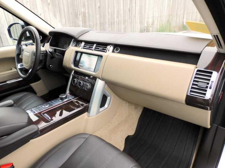 Used 2016 Land Rover Range Rover Supercharged Used 2016 Land Rover Range Rover Supercharged for sale  at Metro West Motorcars LLC in Shrewsbury MA 21