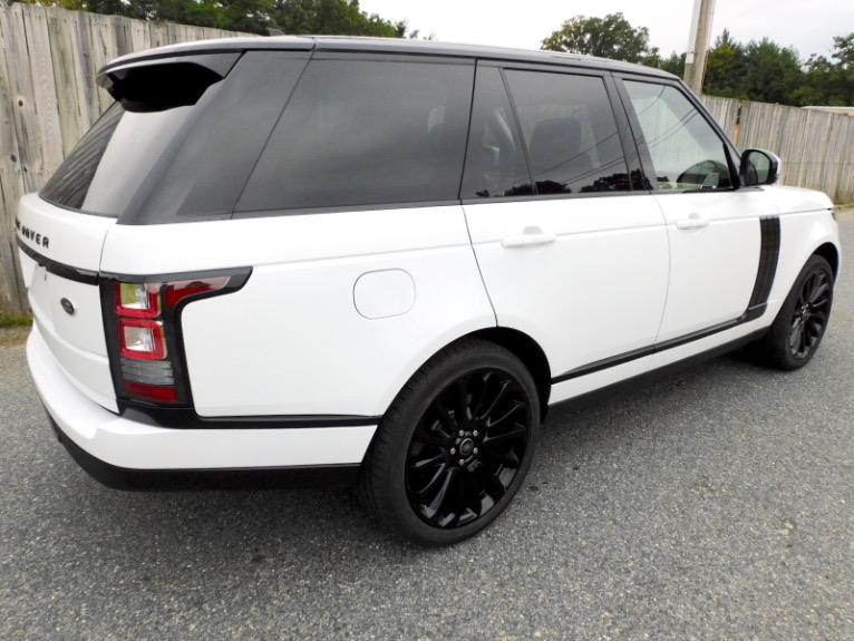 Used 2016 Land Rover Range Rover Supercharged Used 2016 Land Rover Range Rover Supercharged for sale  at Metro West Motorcars LLC in Shrewsbury MA 5