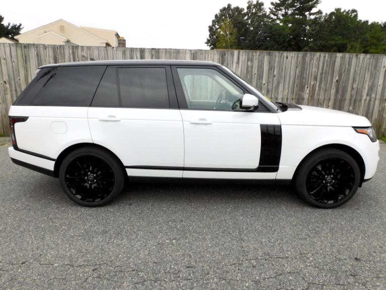 Used 2016 Land Rover Range Rover Supercharged Used 2016 Land Rover Range Rover Supercharged for sale  at Metro West Motorcars LLC in Shrewsbury MA 6