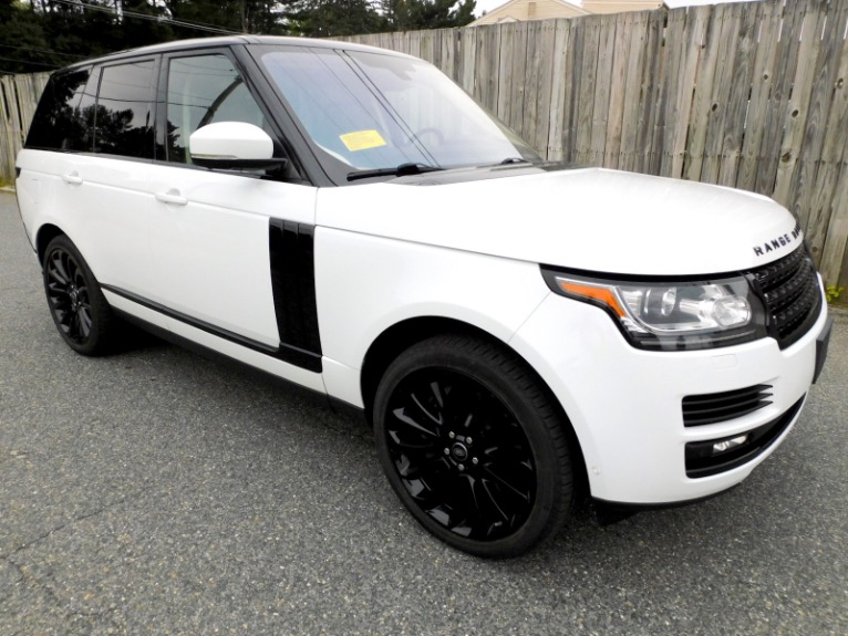 Used 2016 Land Rover Range Rover Supercharged Used 2016 Land Rover Range Rover Supercharged for sale  at Metro West Motorcars LLC in Shrewsbury MA 7