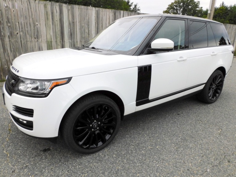 Used Used 2016 Land Rover Range Rover Supercharged for sale $45,800 at Metro West Motorcars LLC in Shrewsbury MA
